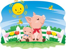6.27*豚さんの日向ぼっこ*55-150.4.jpg