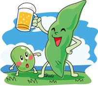 枝豆とビール*50-105.9.jpg